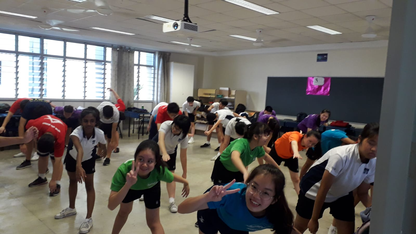 3e1 At Their K Pop Dance Session