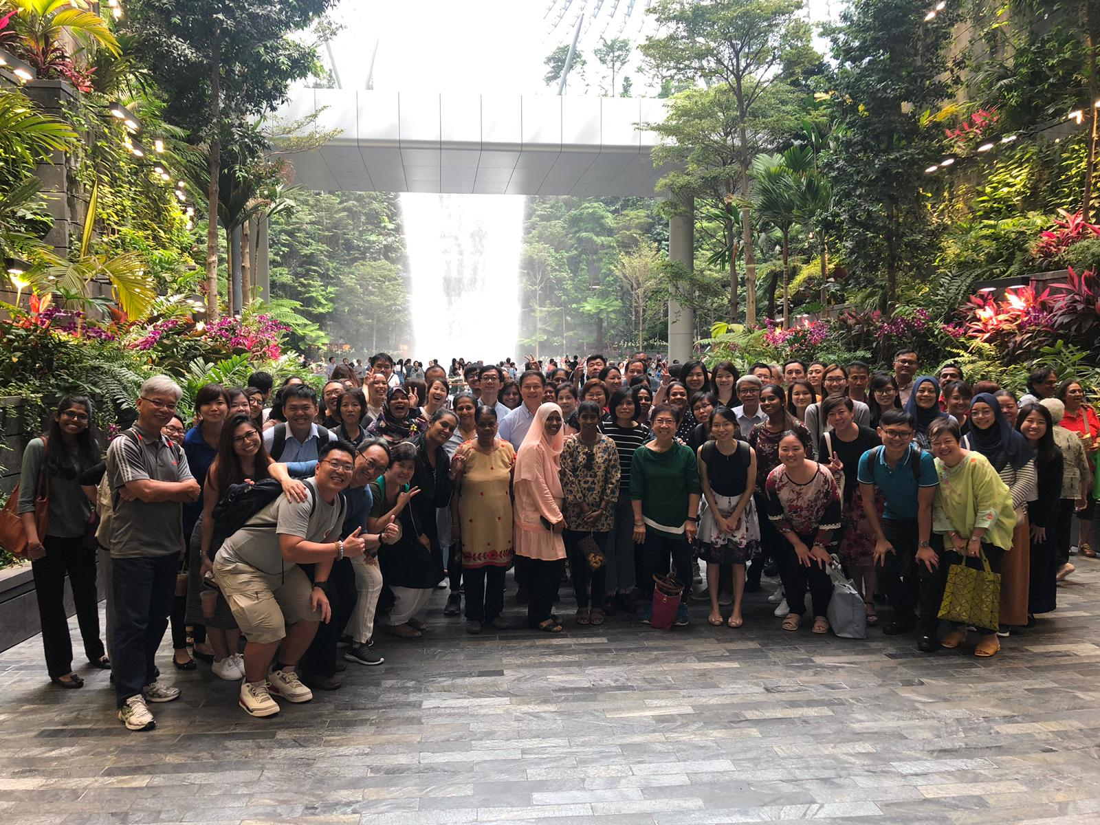 Staff Activity to Jewel @ Changi Airport